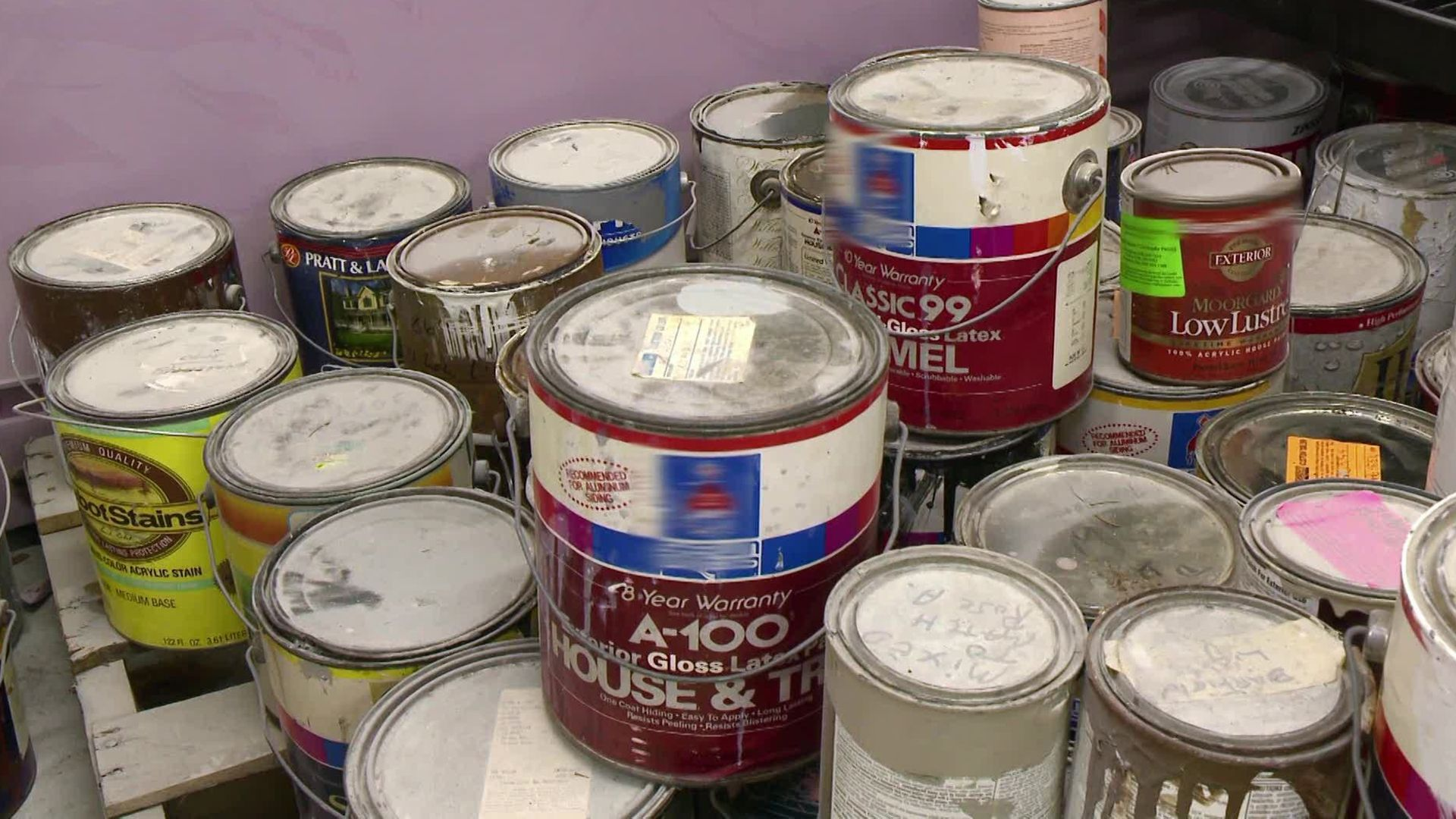 Looking for paint disposal company dallas paint disposal