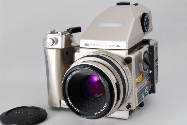 ブロニカ ETR Si 40周年記念モデル PE 75mm F/2.8 セット_画像1