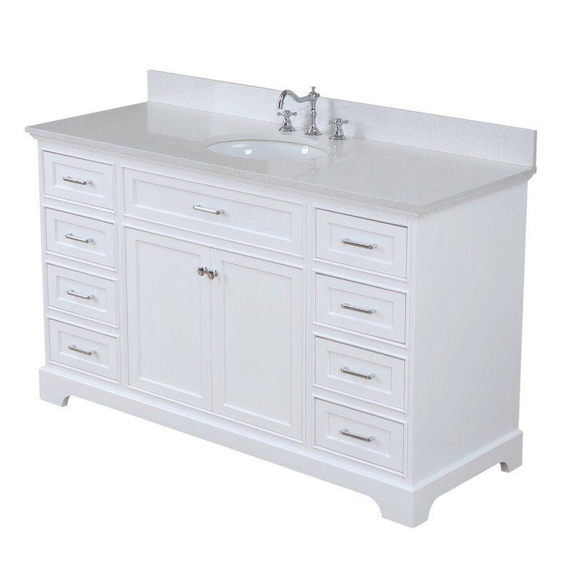 Breakwater Bay Kingon 60 Single Bathroom Vanity Set Reviews Wayfair Vanity Cabinet Vanity Single Bathroom Vanity