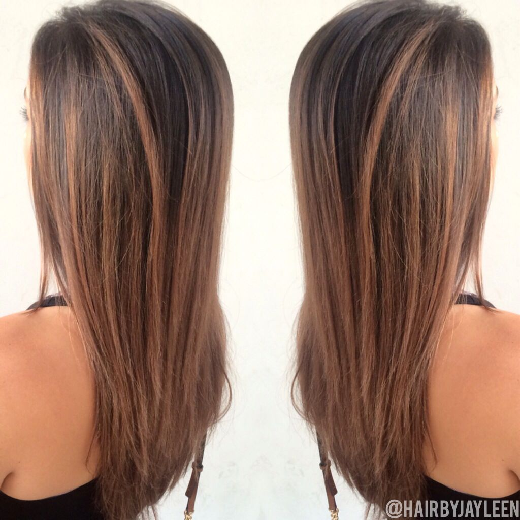 Warm brown haircolor, balayage, balayage melt, sombre, lived in ...