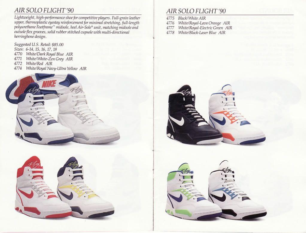 9fbc6a22 Nike #Air #SoloFlight 90 | Sneaker head | Nike air flight, Nike ...
