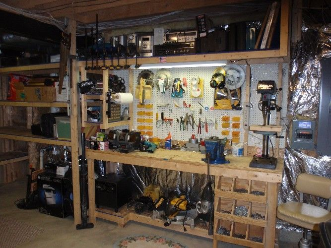 Garage Workshop Organization Ideas Part - 17: Well Organized Garage Workshop