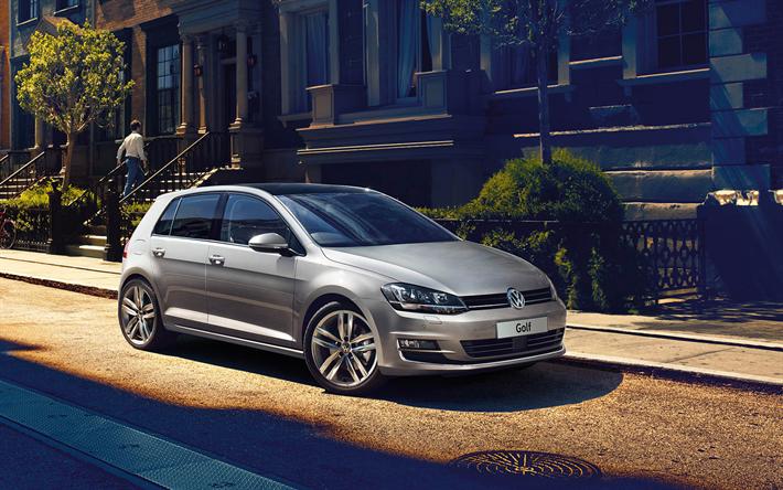 Download Wallpapers Volkswagen Golf 4k 2017 Cars Street Vw Golf German Cars Volkswagen Besthqwallpapers Com Volkswagen Golf Vw Golf Volkswagen
