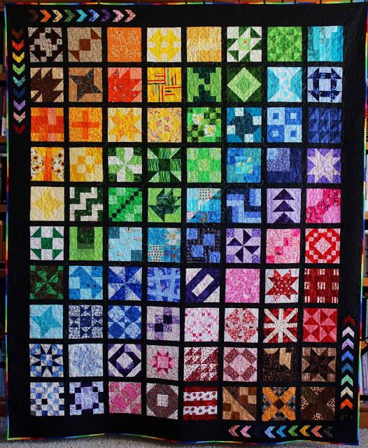 Life In Pieces: Bloggers Quilt Festival Fall 2015 - An RSC Quilt for the ROYGBIV Category