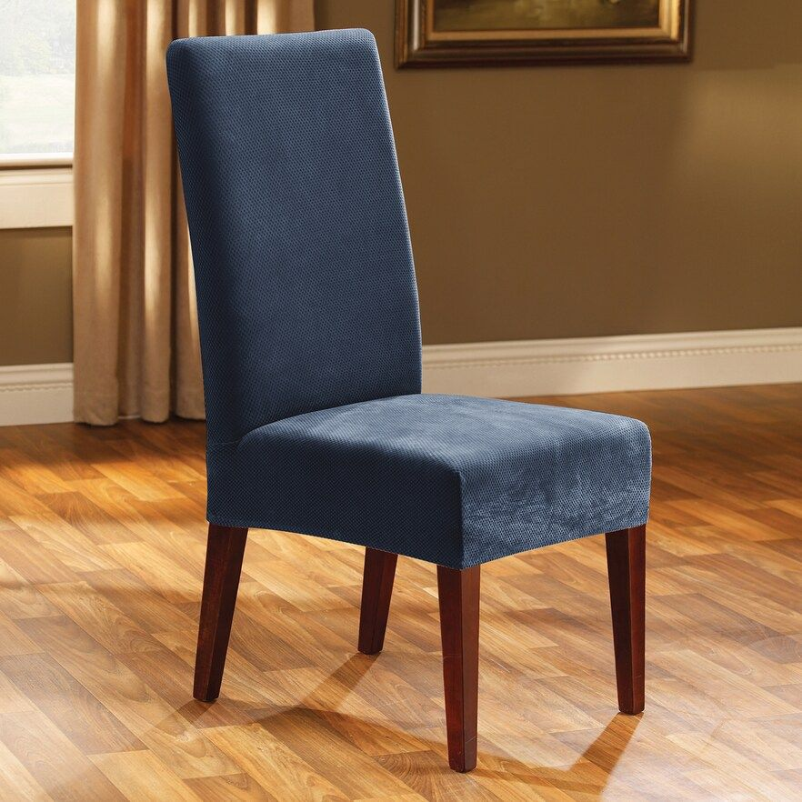 Sure Fit Pique Dining Chair Slipcover Dining room chair