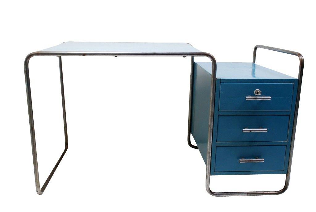 Schreibtisch B65 Marcel Breuer 1929 Bauhaus Mobel