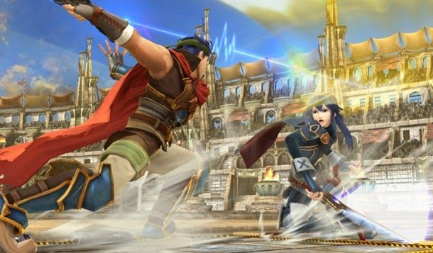 A Nintendo confirmou Captain Falcon, Lucina e Robin como novos personagens no próximo Super Smash Bros., para Wii U e 3DS.