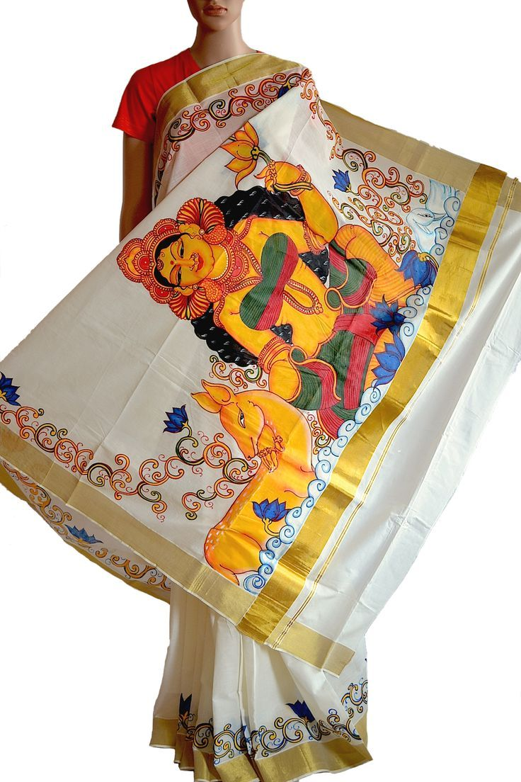 684c659e83e134ca89170e80be1207c4.jpg (736×1104)   mural   Pinterest ... for Fabric Painting Designs For Kerala Sarees  131fsj