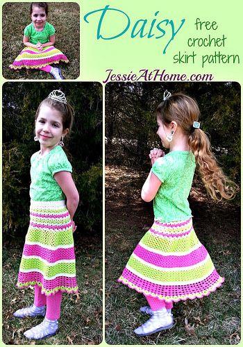 19 new crochet patterns more link love crochet skirt pattern daisy new free crochet skirt pattern from jessieathome dt1010fo