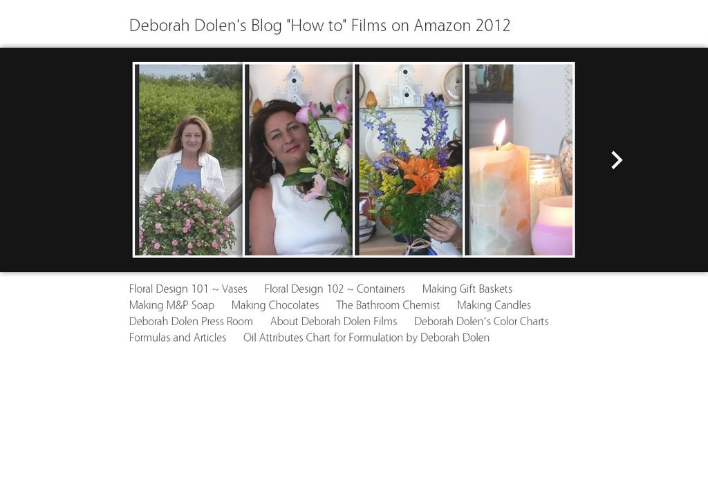 Deborah Dolen popular Screenshot of deborah-dolen.com
