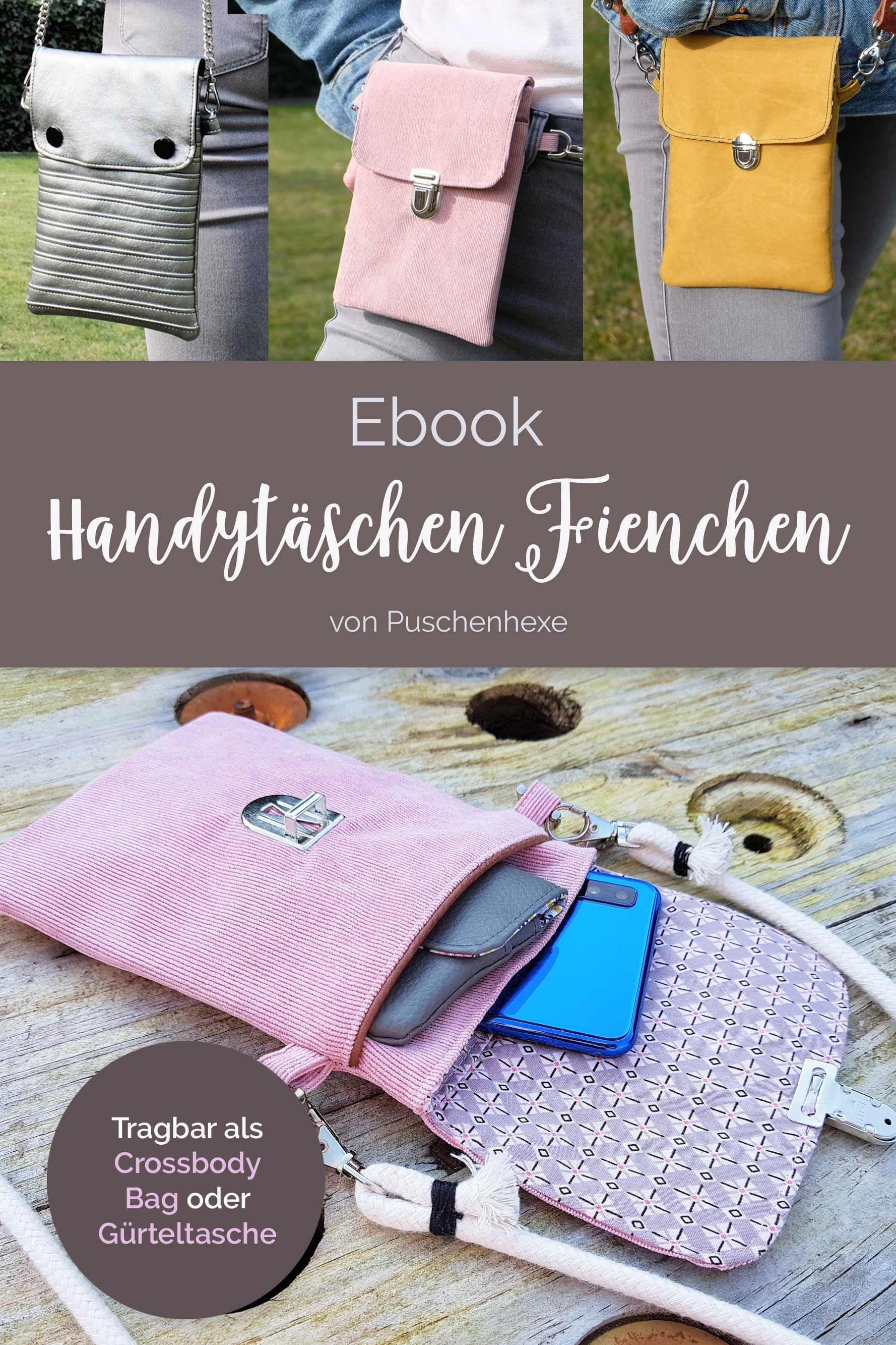Photo of Ebook Schnittmuster Handytasche Fienchen