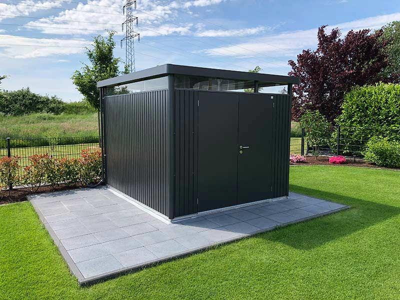 Gerätehaus HighLine in 2020 Gartenhaus metall