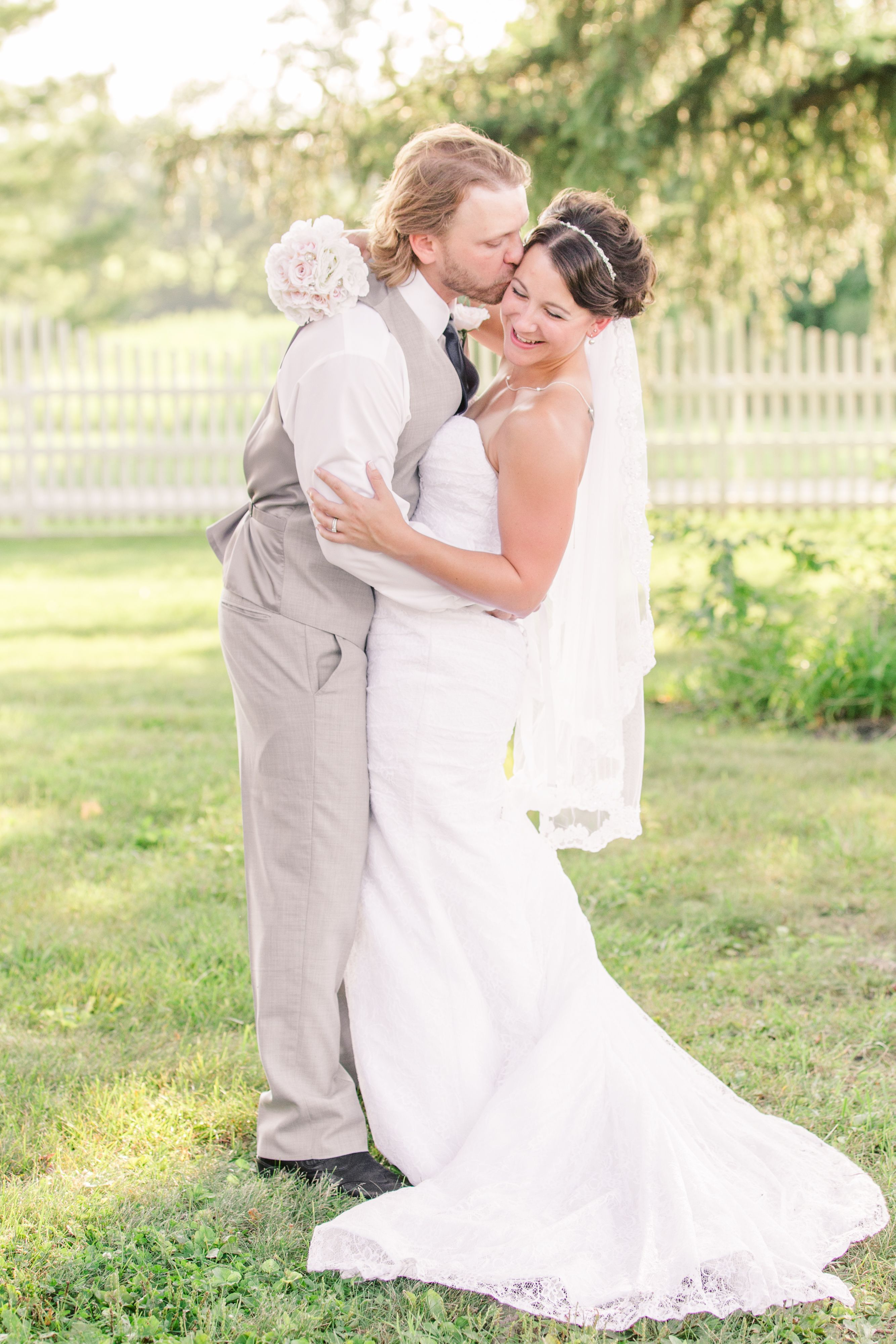 Amber & Dustin\'s Wedding at A Secret Garden at Weber Estates Venue ...