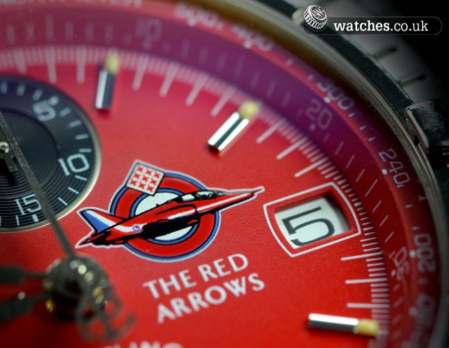 Breitling Chronomat Red Arrows Ref A13050.1. Limited Edition of 1965. Dated November 1997. We buy and sell Breitling watches. Contact us - www.watches.co.uk