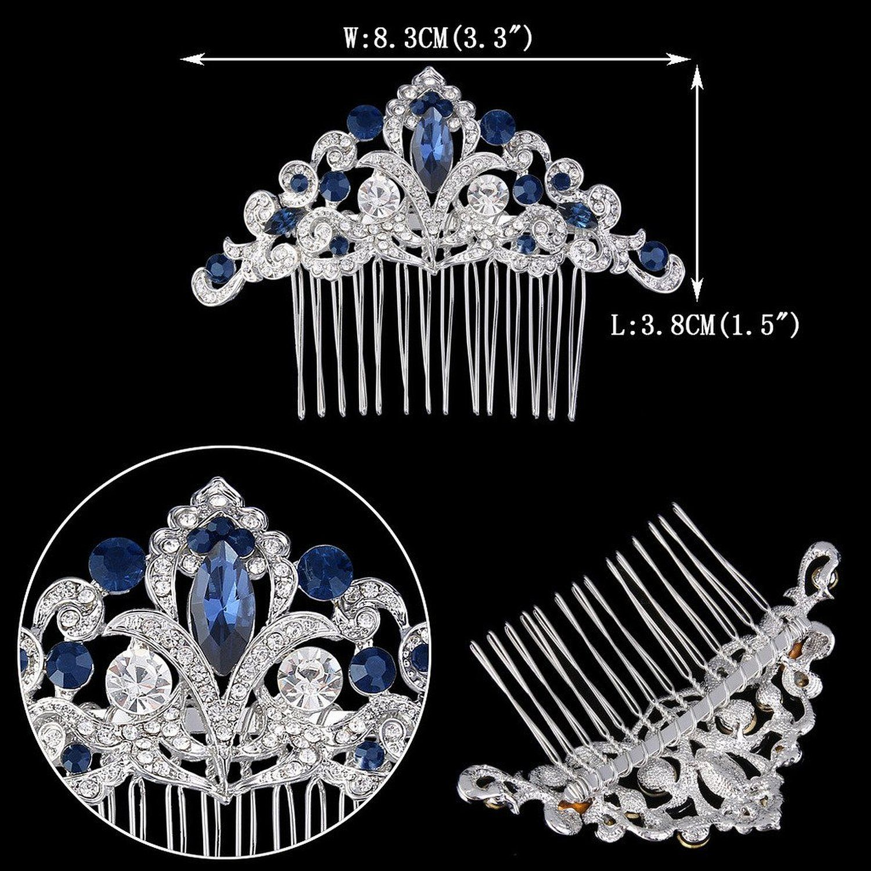 amazon: ever faith silver-tone austrian crystal elegant