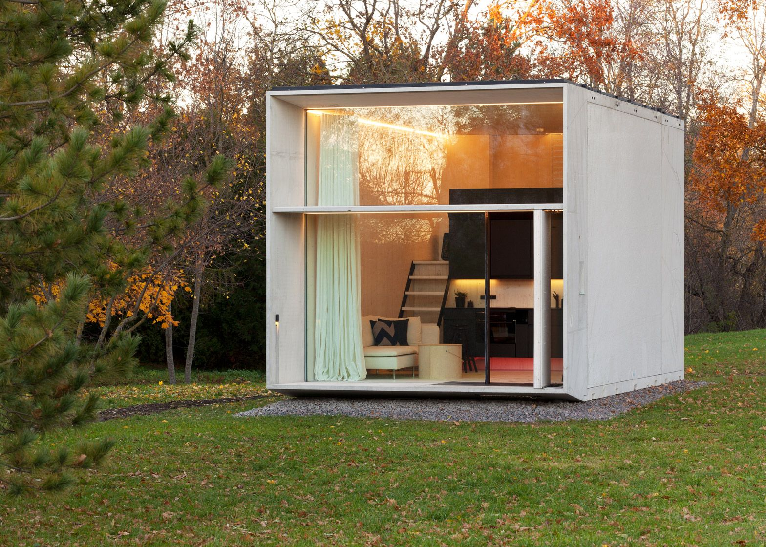 Estonian Design Collective Kodasema Creates Tiny Prefabricated House  U0027KODAu0027, That Moves With Its Owners.