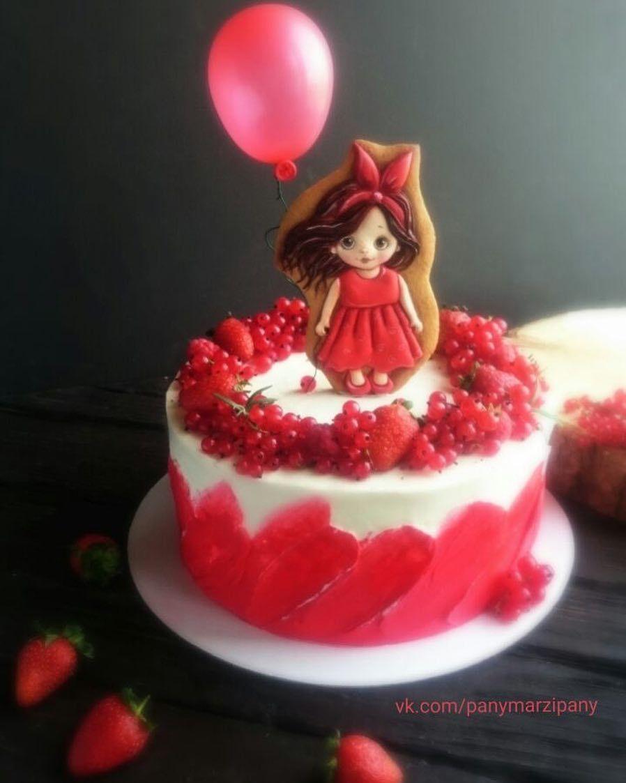 Ягодно-сладкое-детское счастье🎈на тортике от ...