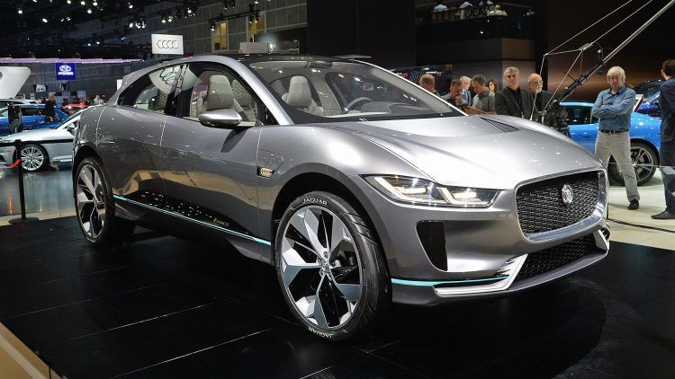 The Jaguar I Pace Concept Electric Suv For 2018