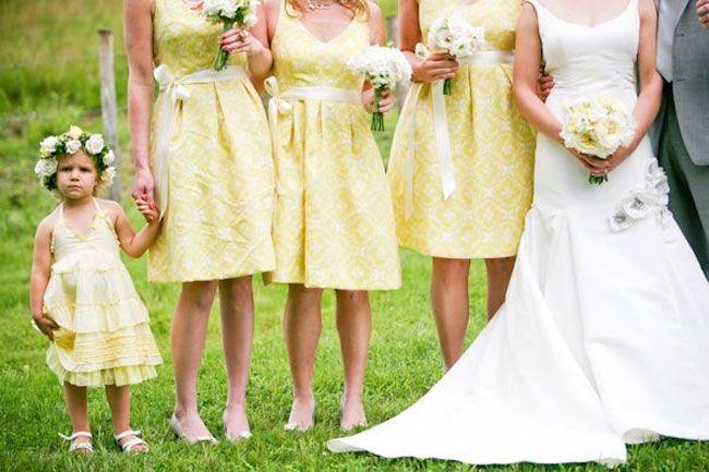 Yellow green wedding colors yellow bridesmaids green wedding and yellow bridesmaids and yellow flower girl mightylinksfo