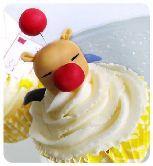 Delivery Moogle Birthday Card Final Fantasy Themed: Fantasy Cake, Fantasy Party