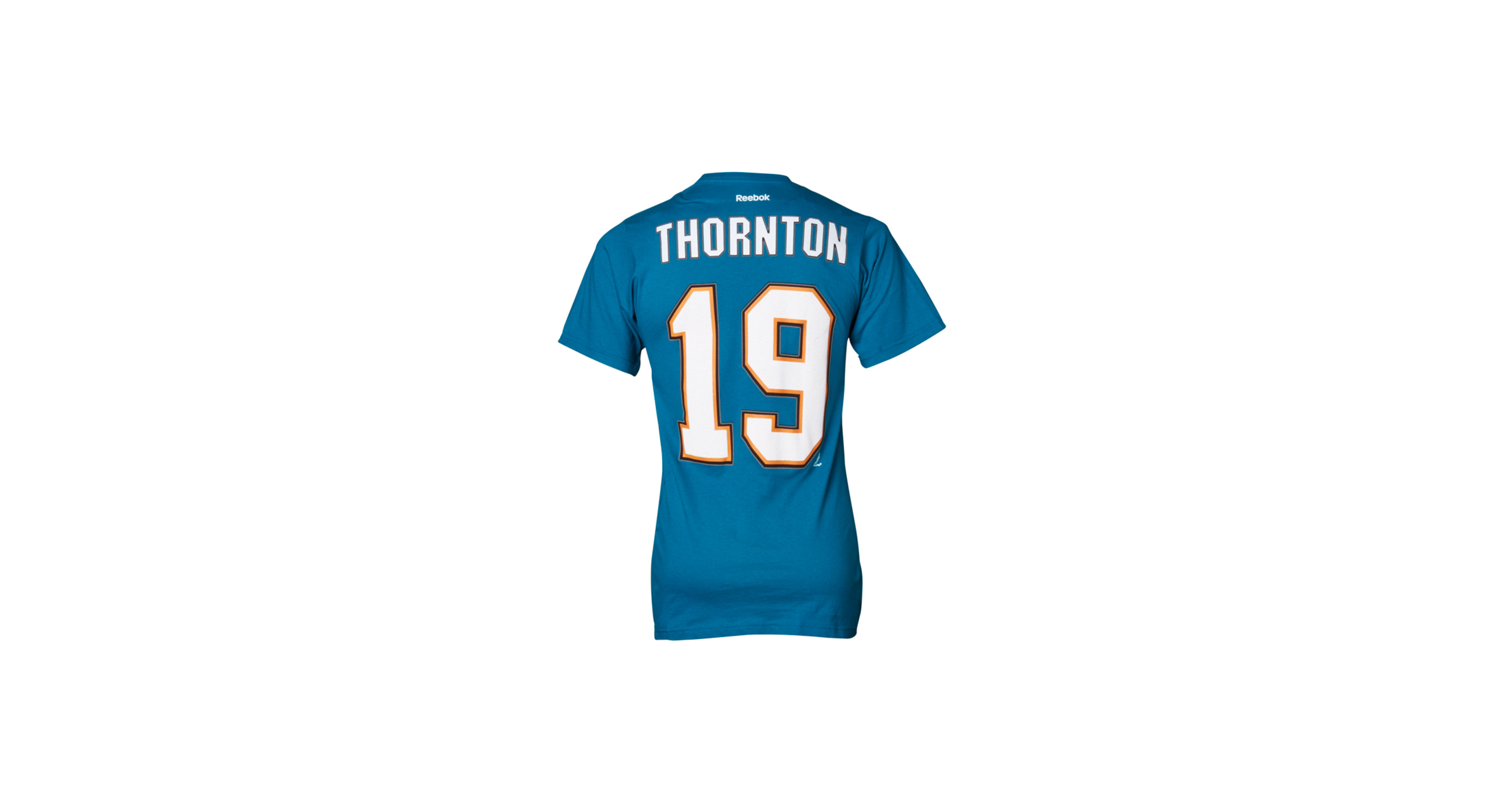 ca2e18a58 Reebok Men s San Jose Sharks Joe Thornton Premier Player T-Shirt ...