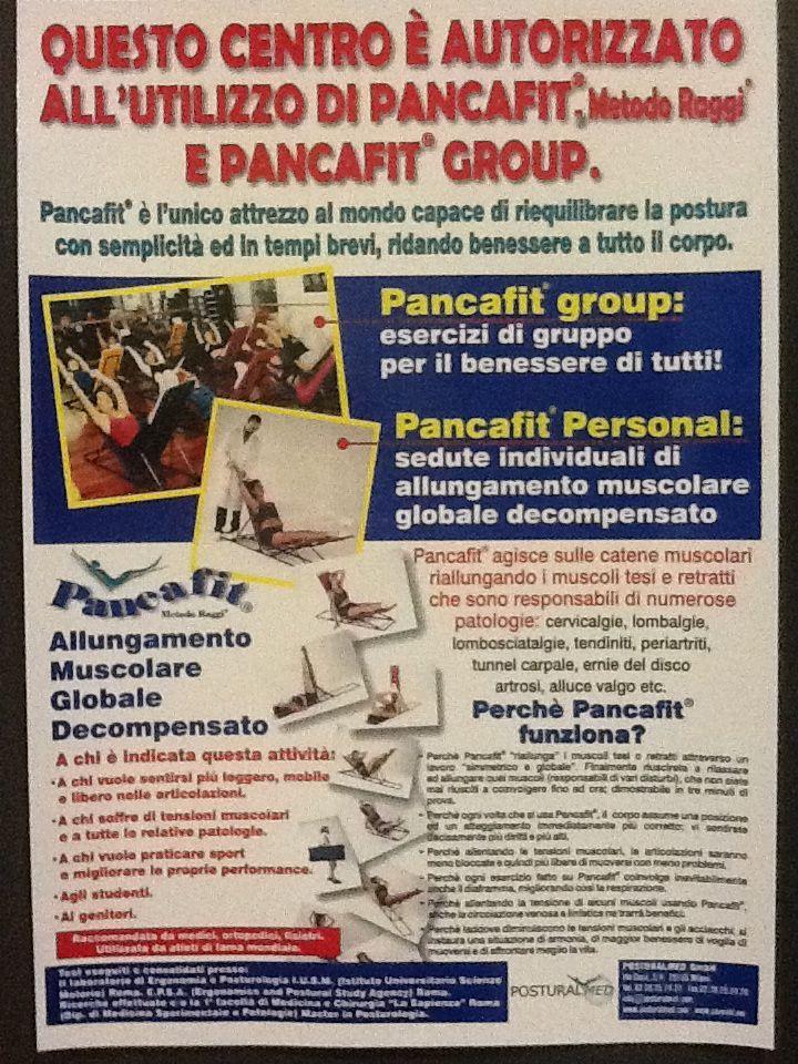 Descrizione e benefici del corso di pancafit.