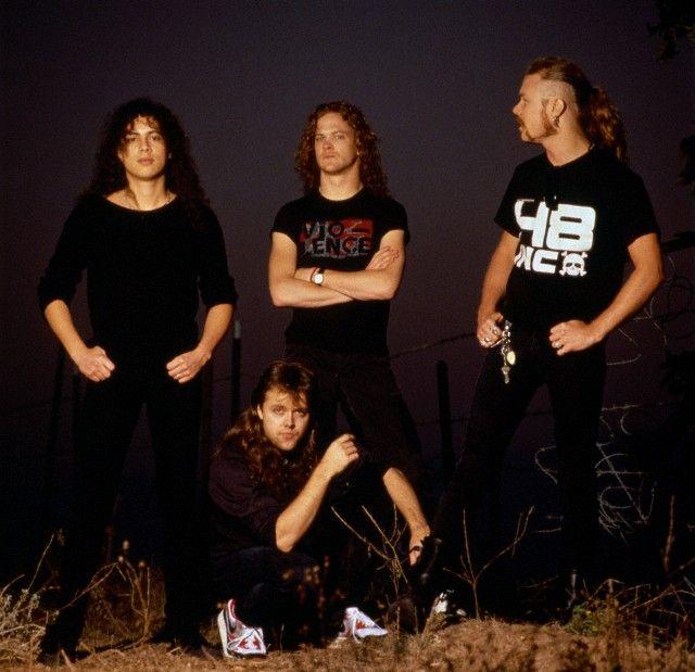 Jason Kirk Stock Photos Jason Kirk Stock Images: Metallica (OK 99,9% Kirk And Lars