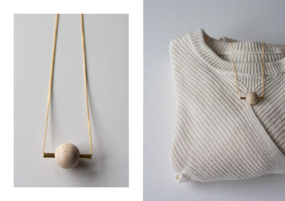 Halskette / / SATURN  von thingslikediamonds auf Etsy