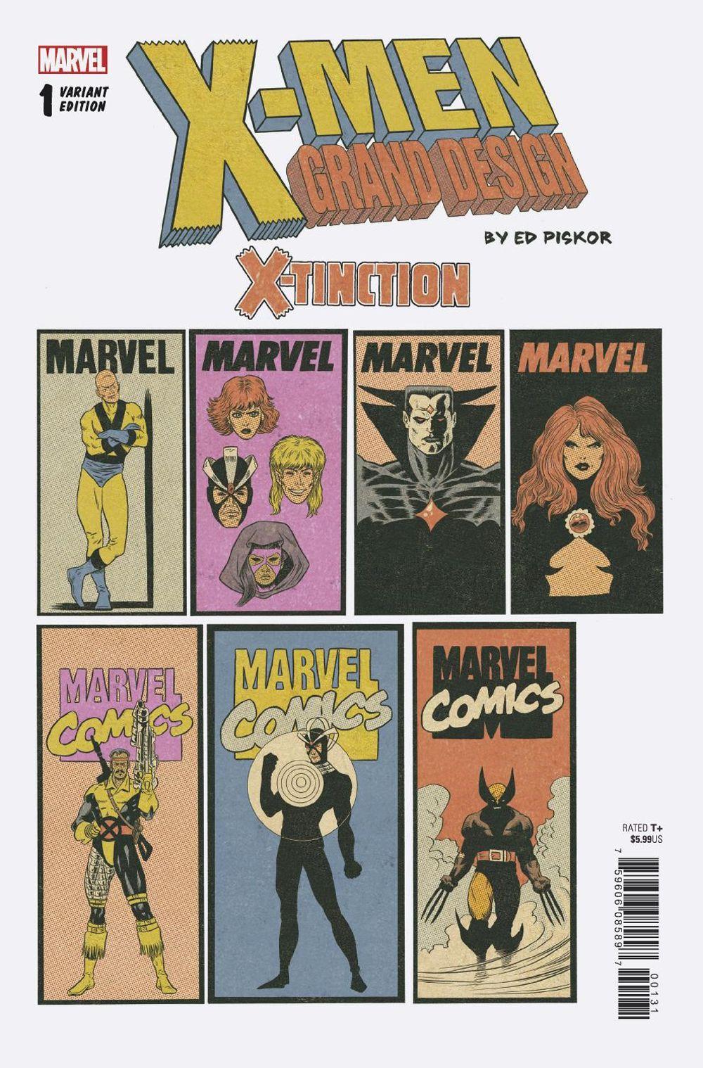 036 4 49 X Men Grand Design X Tinction 1 Corner Box Variant Marvel 2019 Nm Sold By Imagine That Comics Https Imaginethatcomics Com Product X Men