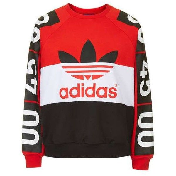 For Colour Block Adidas Superstar Sweatshirt Originals By Topshop tshdQr