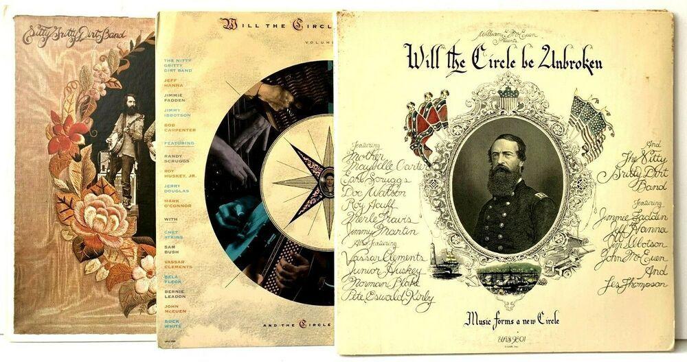Nitty Gritty Dirt Band Lp Vinyl Record Album Lot Will The Circle Be Unbroken Ebay Vinyl Records Vinyl Record Album Lp Vinyl