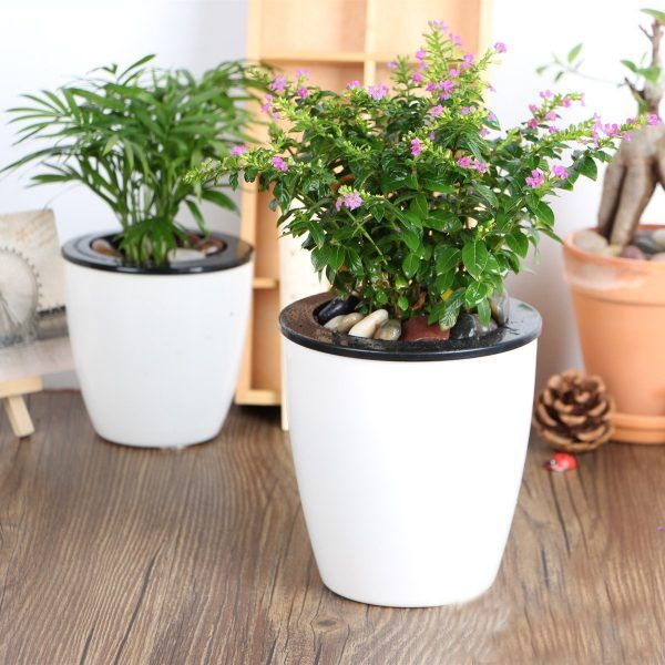 Nice Self Watering Planters Part - 8: The Big List Of Self-Watering Planters For Stylish Gardening Anywhere