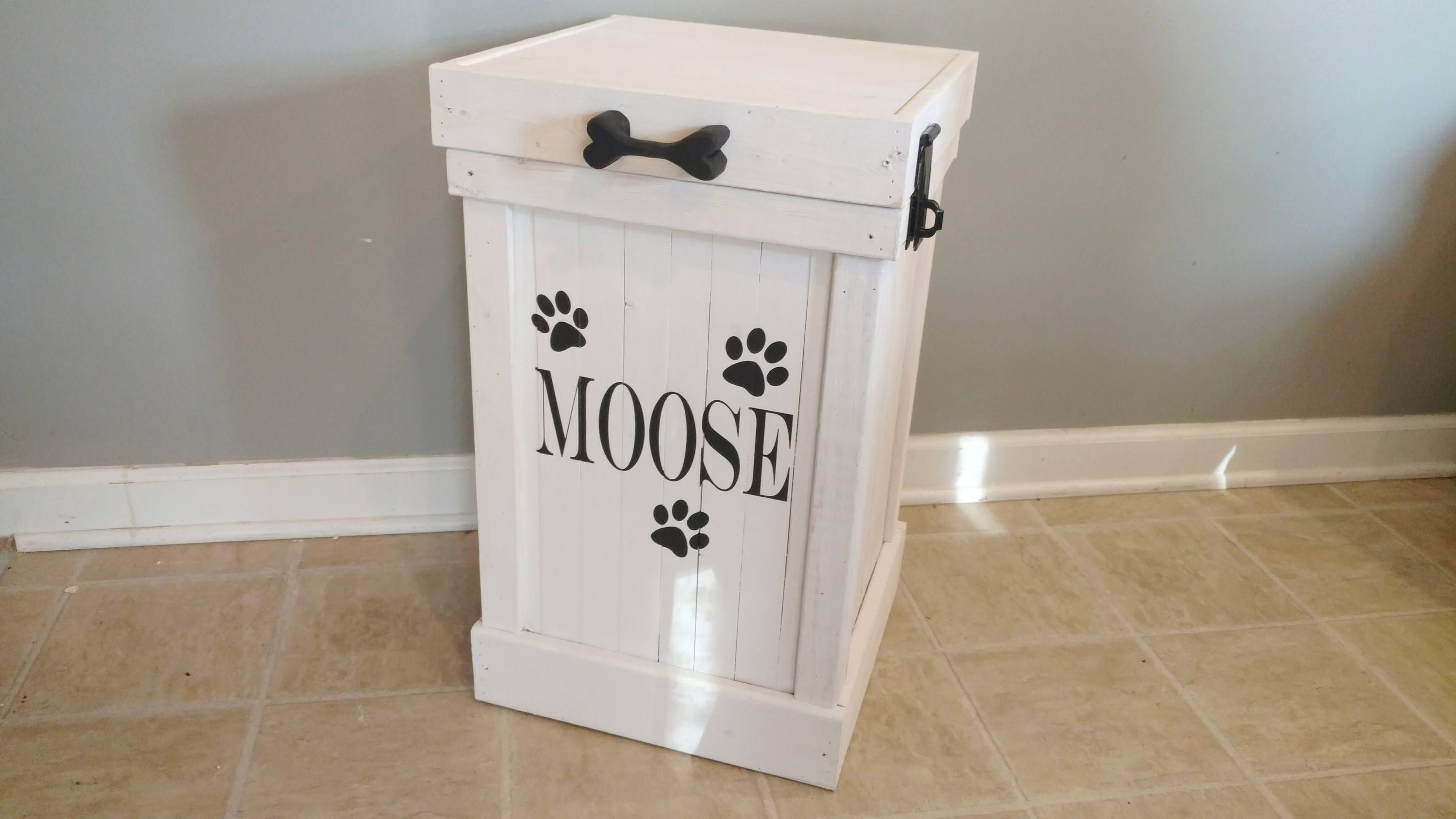 Pet Food Storage Container Custom Dog Food Container Dog Food