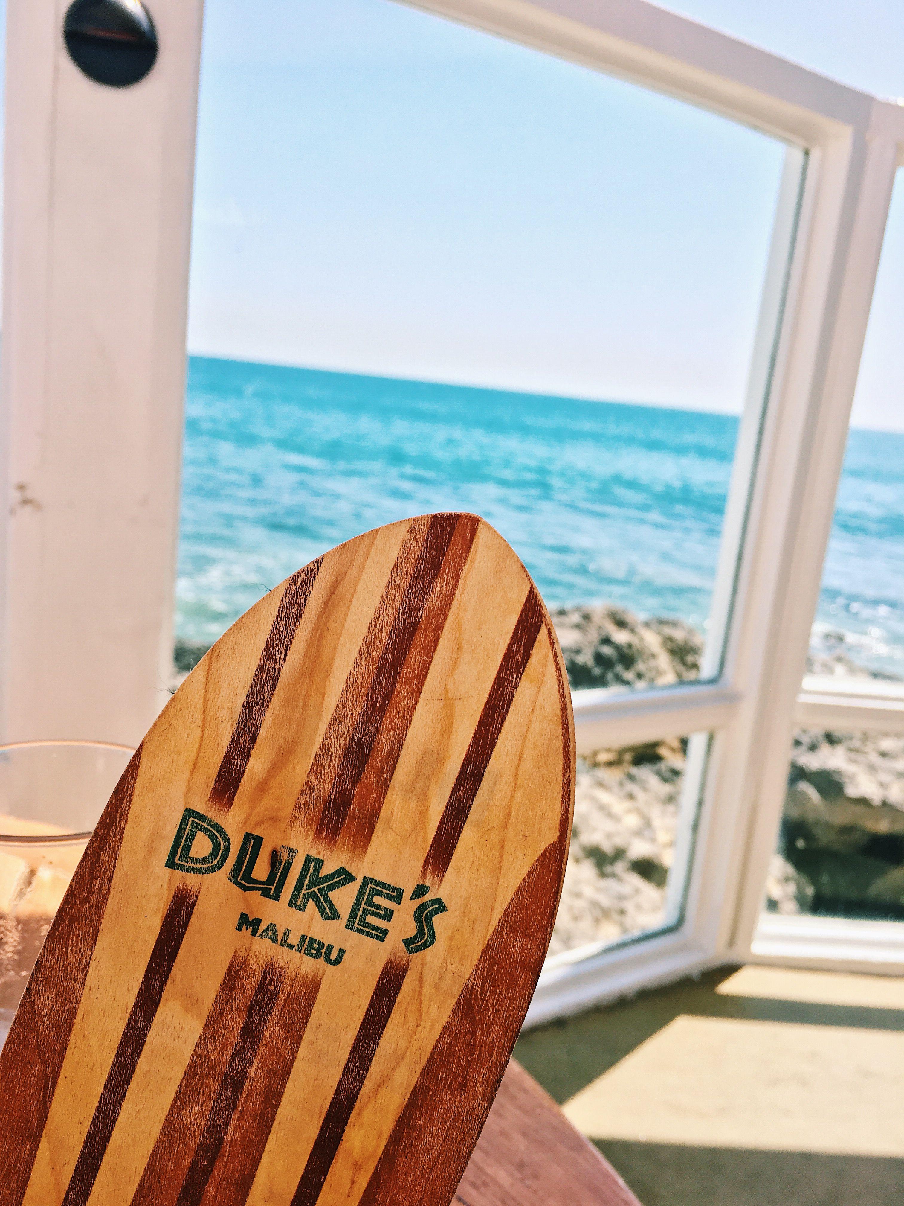 #malibu #duke #dukes #losangeles #zuma #dolphins #surfer #surf #surfing #menu
