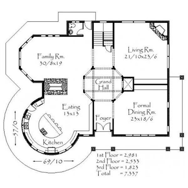 Country House Plans Victorian Home Plans M 7337 16741 Victorian House Plans Country House Plans House Plans
