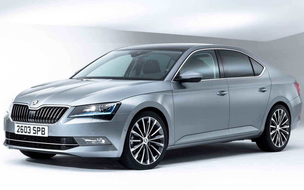 2018 Skoda Superb Facelift