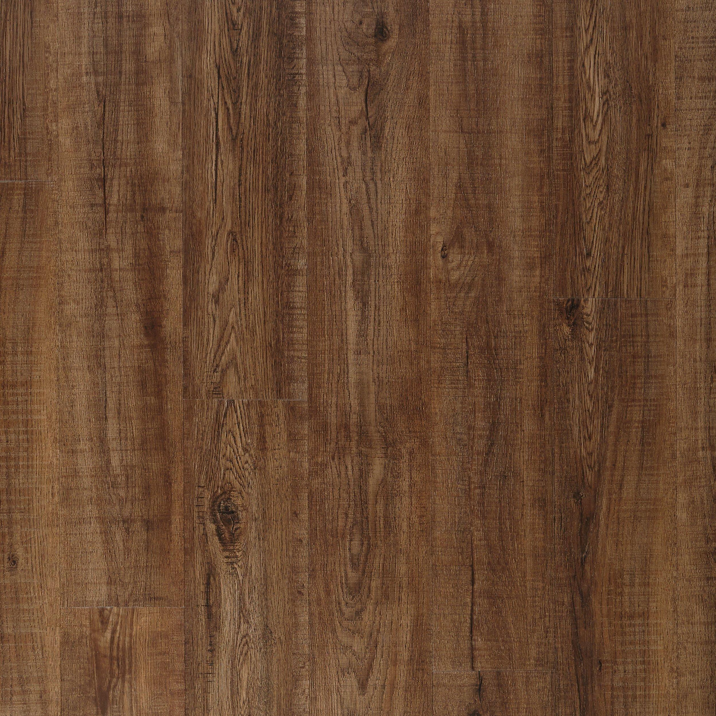 Coffee Oak Rigid Core Luxury Vinyl Plank Cork Back