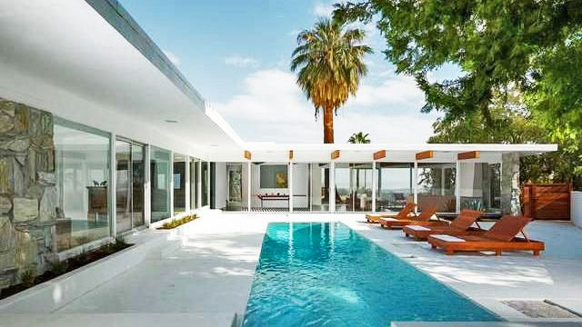 Modern Architecture Palm Springs palm springs glass housewilliam cody | night modern
