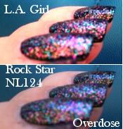 L.A. Girl - Rock star Overdose