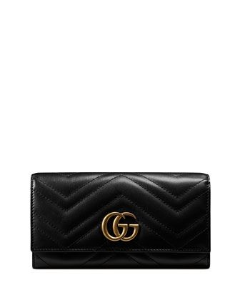 05b0761db03 GG+Marmont+2.0+Medium+Quilted+Flap+Wallet