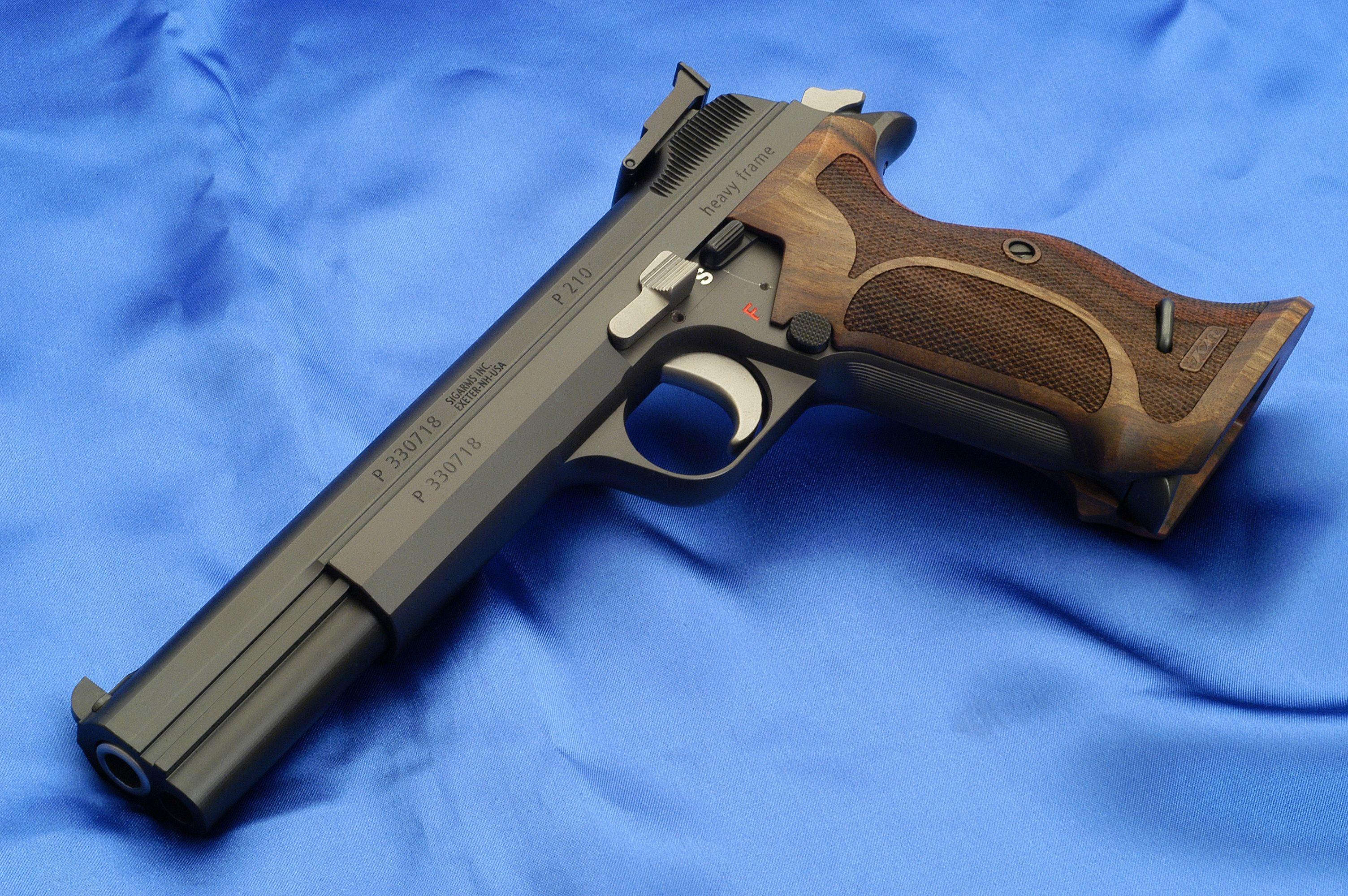 Sig P210 Heavy Frame | Guns | Pinterest | Guns, Weapons and Sig sauer