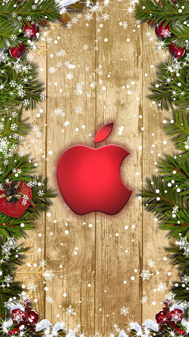 Theredchristmasball Wallpaperforiphone Jpg 750 1 334 Pixels Wallpaper Iphone Christmas Christmas Wallpaper Apple Logo Wallpaper Iphone