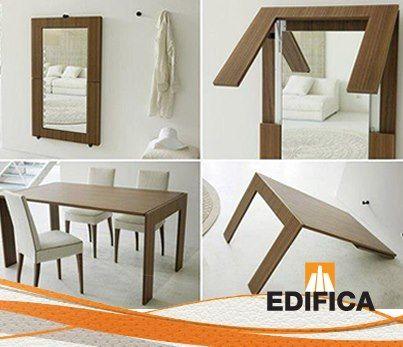 Mesa Cuadro O Cuadro Mesa Muebles Para Espacios Pequeños Muebles Multifuncionales Muebles