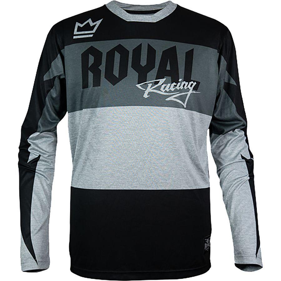 Royal Racing Race Long Sleeve Jersey Black