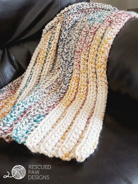Chunky Crochet Blanket Pattern Free Blanket Crochet Pattern Chunky