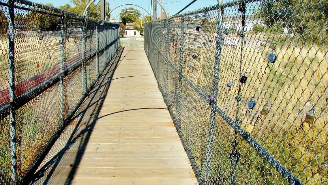 Love Locks Bridge Pocatello, Id (With images) Pocatello