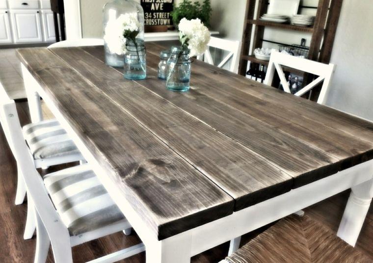 Resultado de imagen para mesa comedor madera rustica | comedores ...