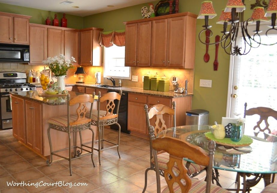 Kitchen with maple cabinets-001 (1)   Maple kitchen ...