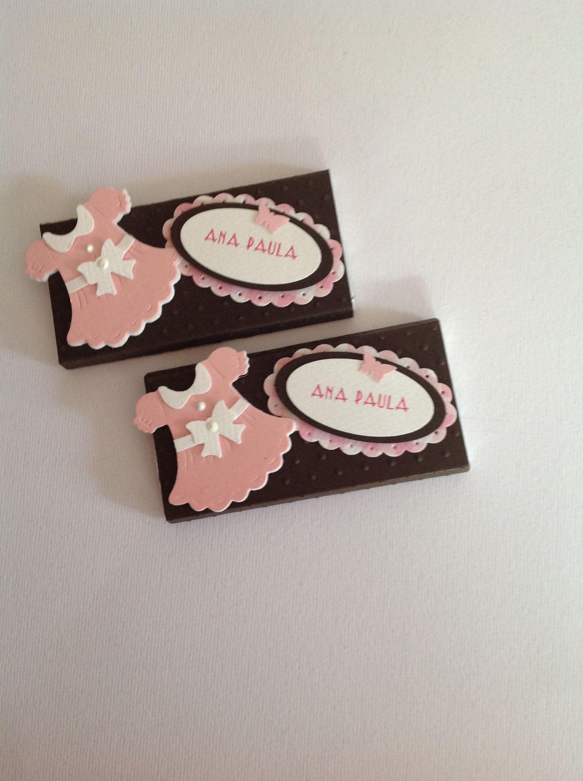 Mesa Dulce Caramelo//Blanco Personalizado Bolsa Para Niñas Bautizo O Baby Shower