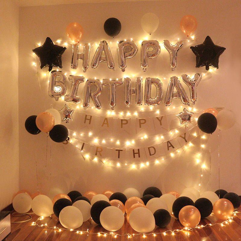 Room Decoration For Birthday Simple Birthday Decorations Surprise Birthday Decorations Diy Birthday Decorations